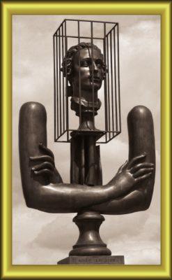 Скульптура А.Бурганова «Маркиз де Сад»