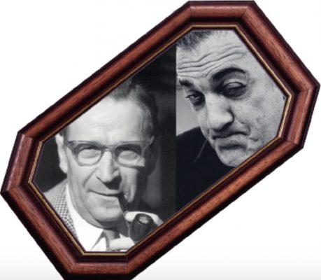 Ж. Сименон и Ф. Феллини